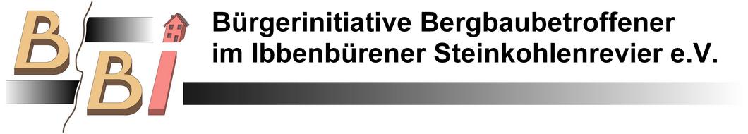 BBI   Bürgerinitiative Bergbaubetroffener im Ibbenbürener Steinkohlenrevier e.V.
